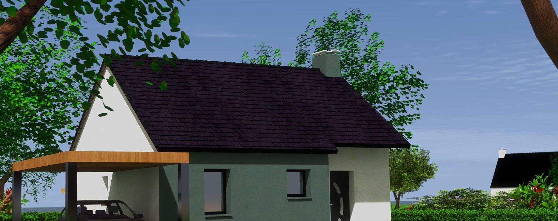 Brélès : programme immobilier neuve « Les Hauts de L'Aber Ildut » (2)