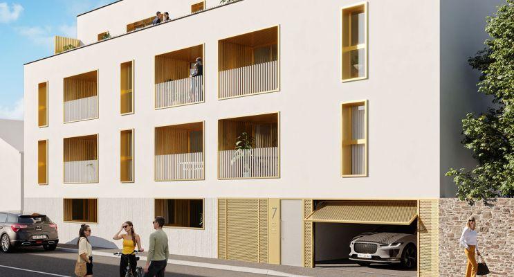 Brest programme immobilier neuf « Cap Armor » en Loi Pinel