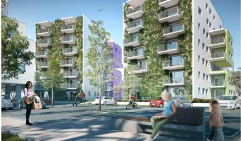 Brest programme immobilier neuve « Horizon Menez Bihan » en Loi Pinel  (2)