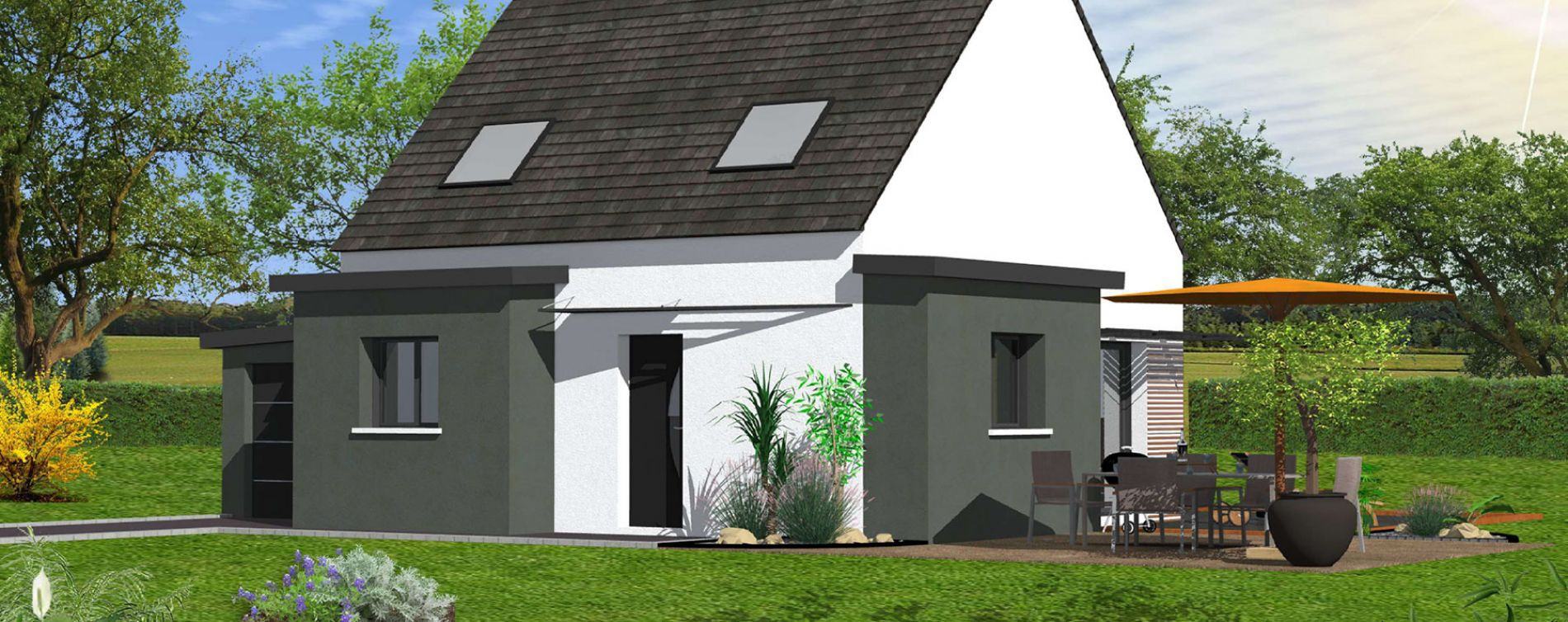 Brest : programme immobilier neuve « La Vallée » (3)