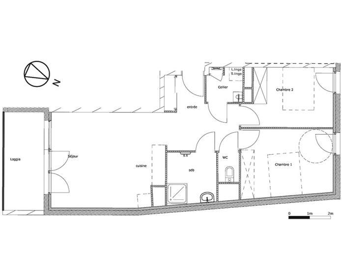 Plan T3 neuf à Brest de