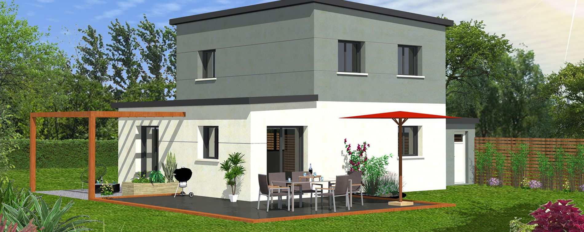 Brest : programme immobilier neuve « Le Chemin du Vallon » (4)