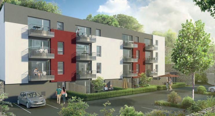 Photo du Résidence « Le Jardin du Commandant » programme immobilier neuf à Brest