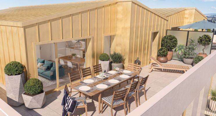 Brest programme immobilier neuf « Le K » en Loi Pinel