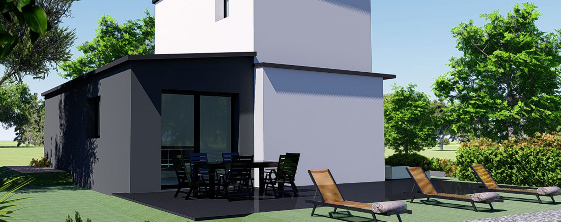 Brest : programme immobilier neuve « Les Hauts du Restic » (5)
