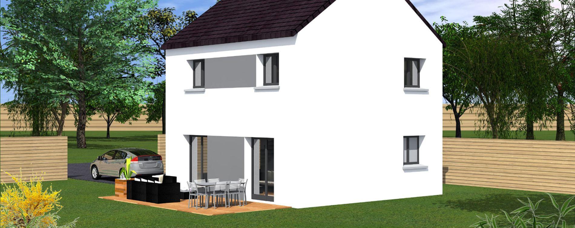 Brest : programme immobilier neuve « Loscoat » (2)