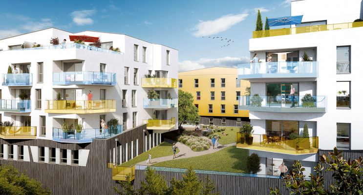Résidence « Nouveau Monde » programme immobilier neuf en Loi Pinel à Brest n°3