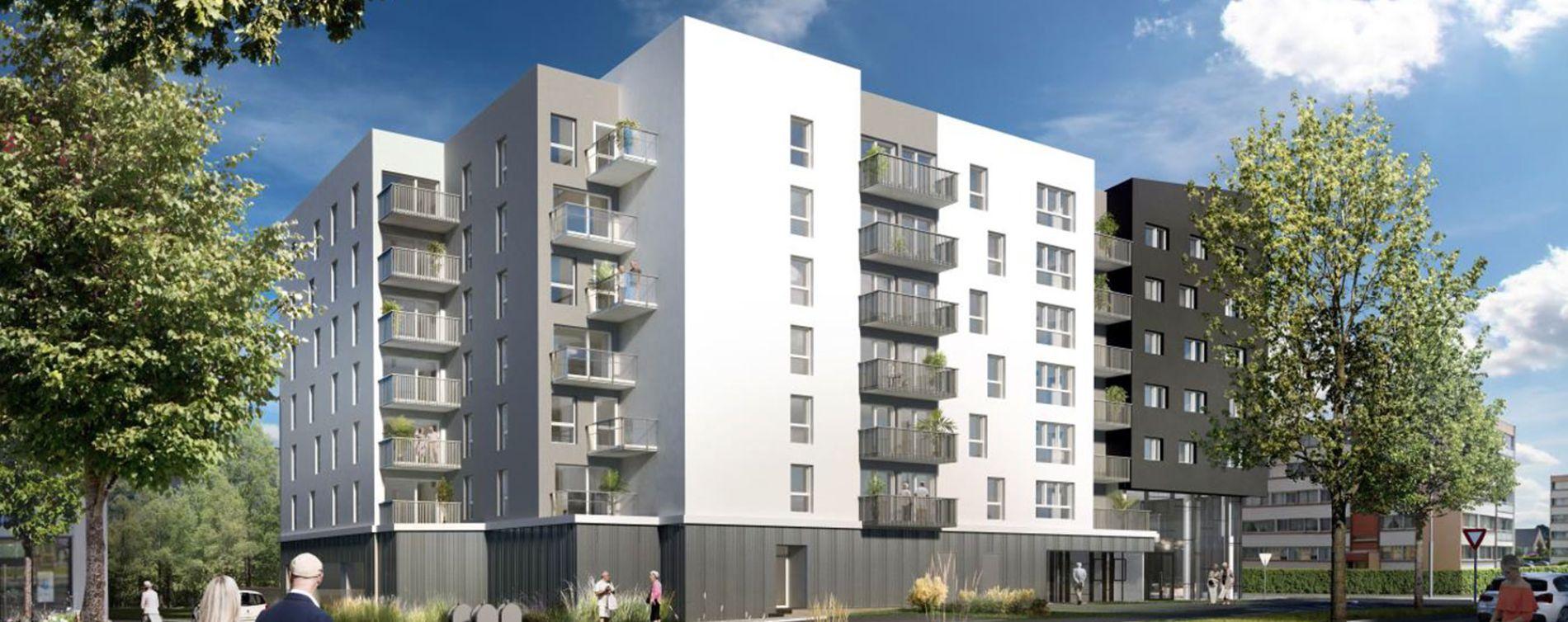 Brest : programme immobilier neuve « Oh Activ - Brest » (3)