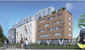 Brest : programme immobilier neuf « R'Campus »