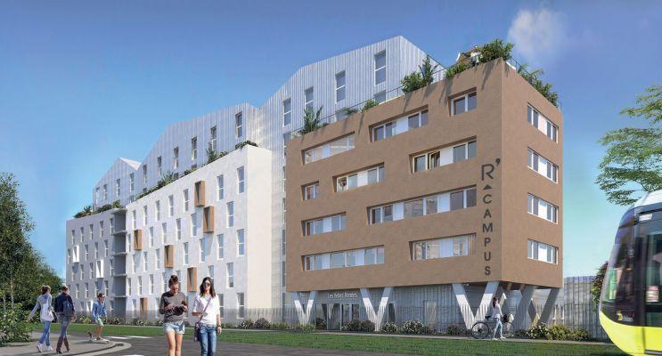 Photo du Résidence « R'Campus » programme immobilier neuf à Brest