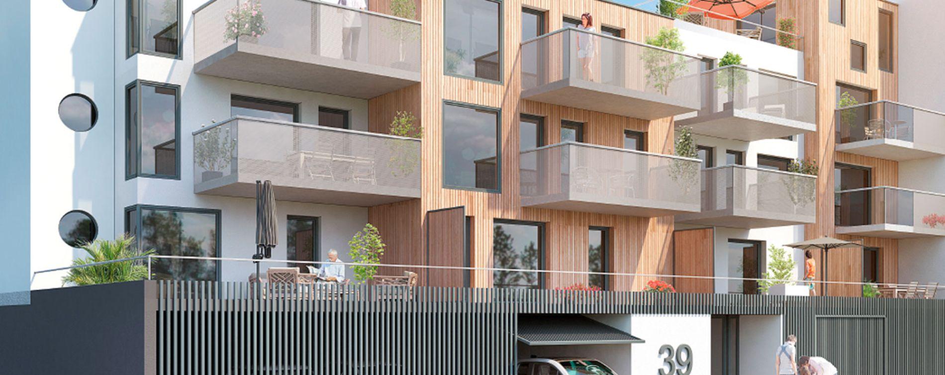 Brest : programme immobilier neuve « Résidence de la Corniche »