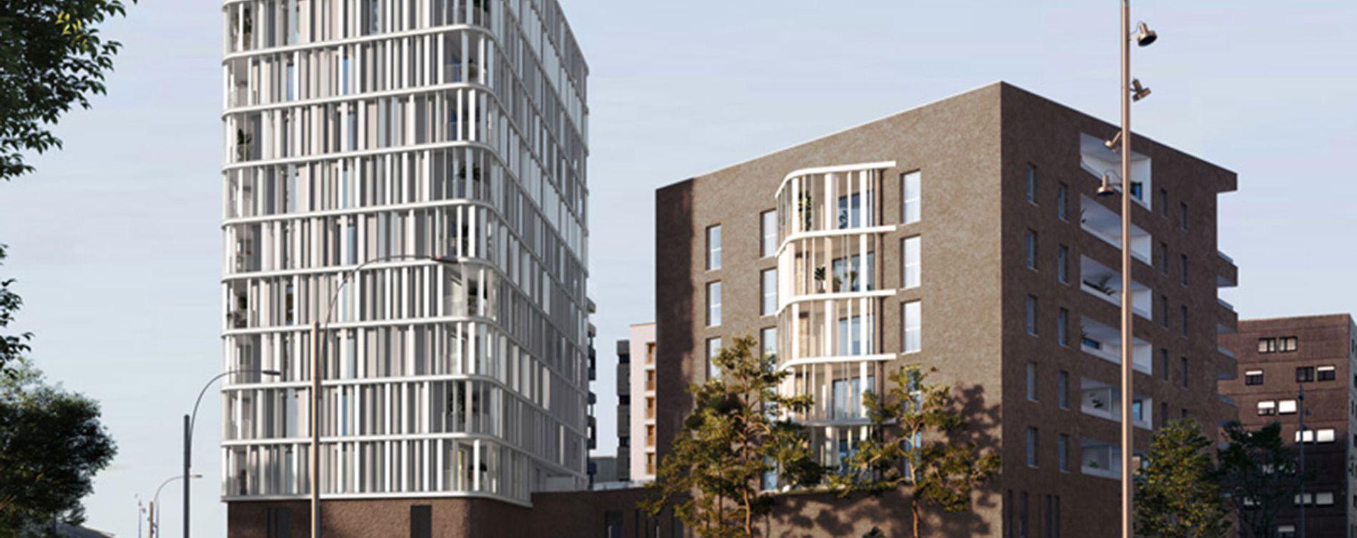 Brest : programme immobilier neuve « Vertigo Coûts Abordables » (2)