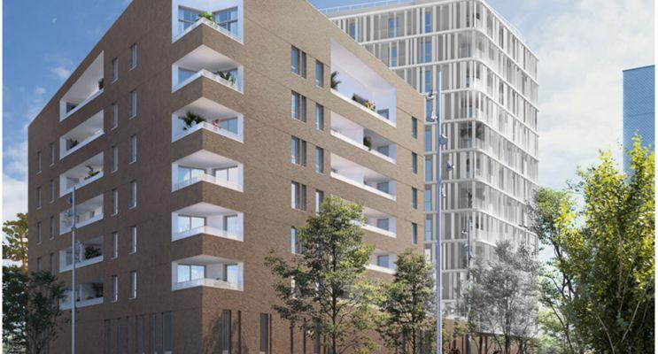 Brest : programme immobilier neuf « Vertigo Coûts Abordables »