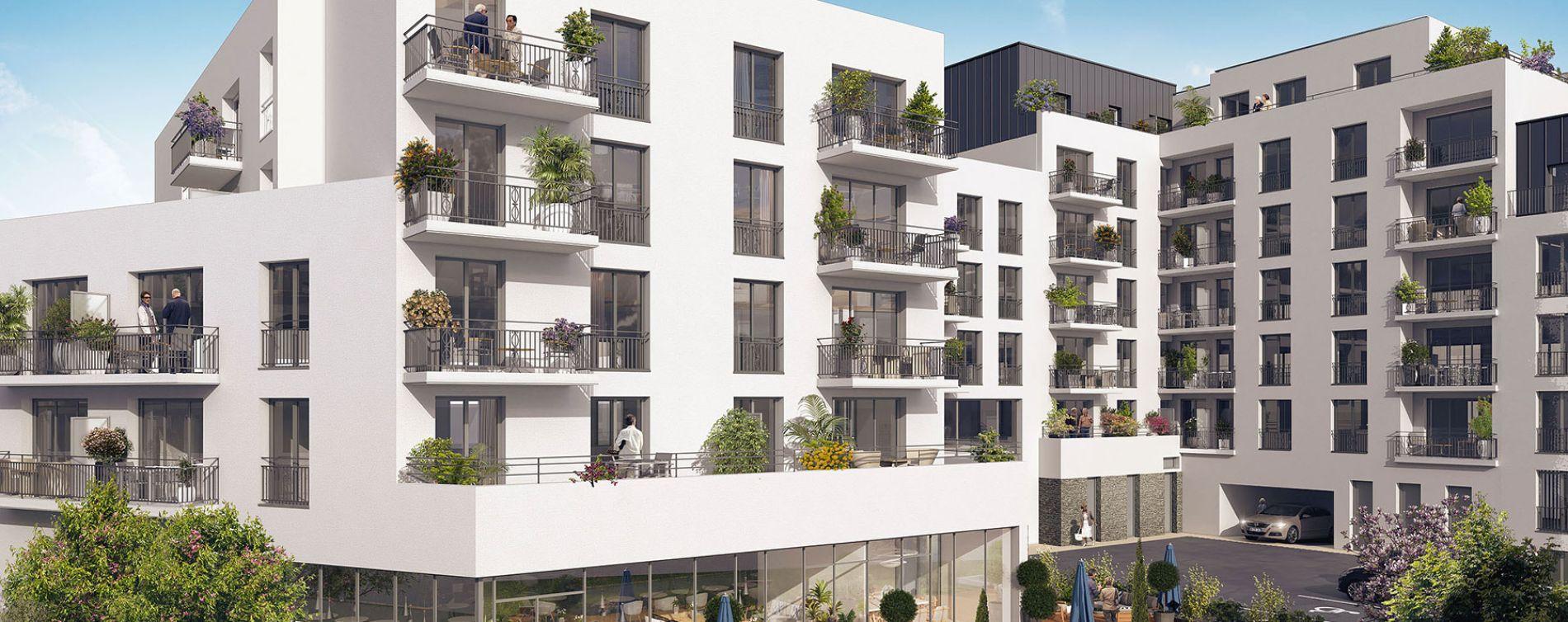 Brest : programme immobilier neuve « Villa Beausoleil »