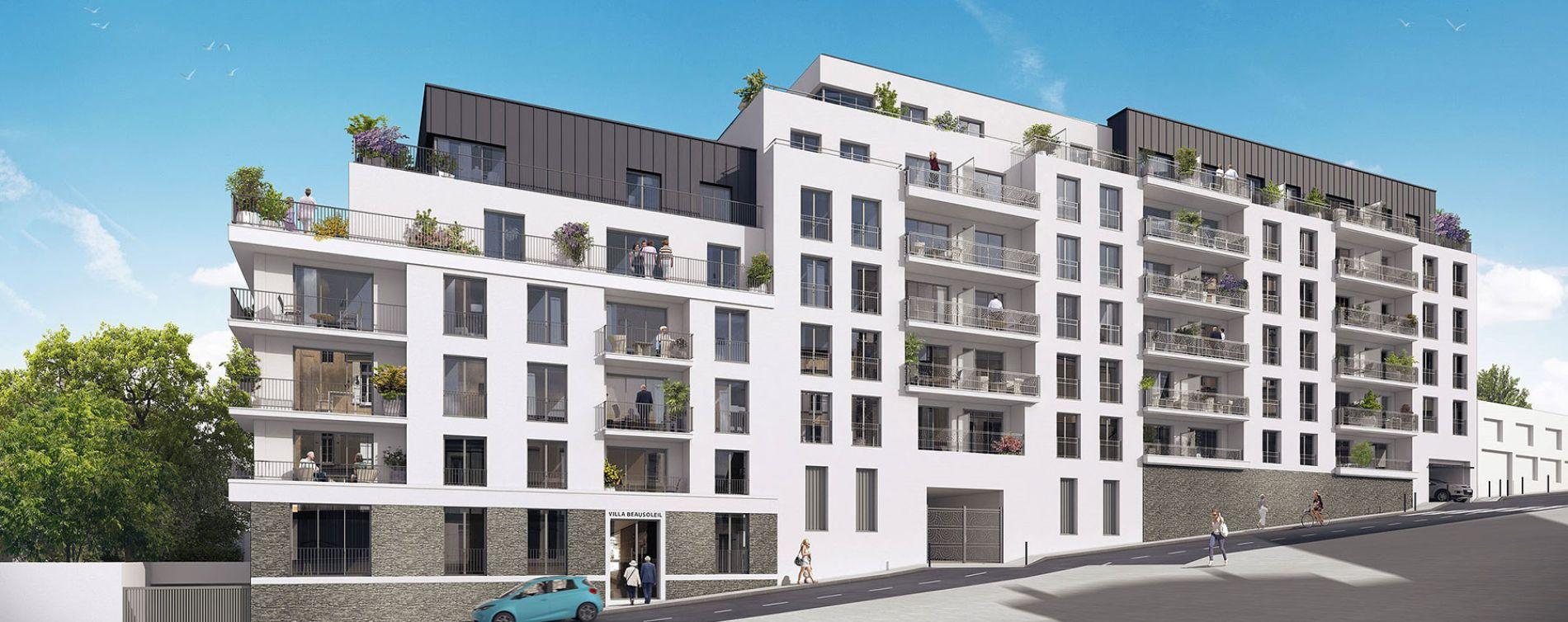 Brest : programme immobilier neuve « Villa Beausoleil » (2)