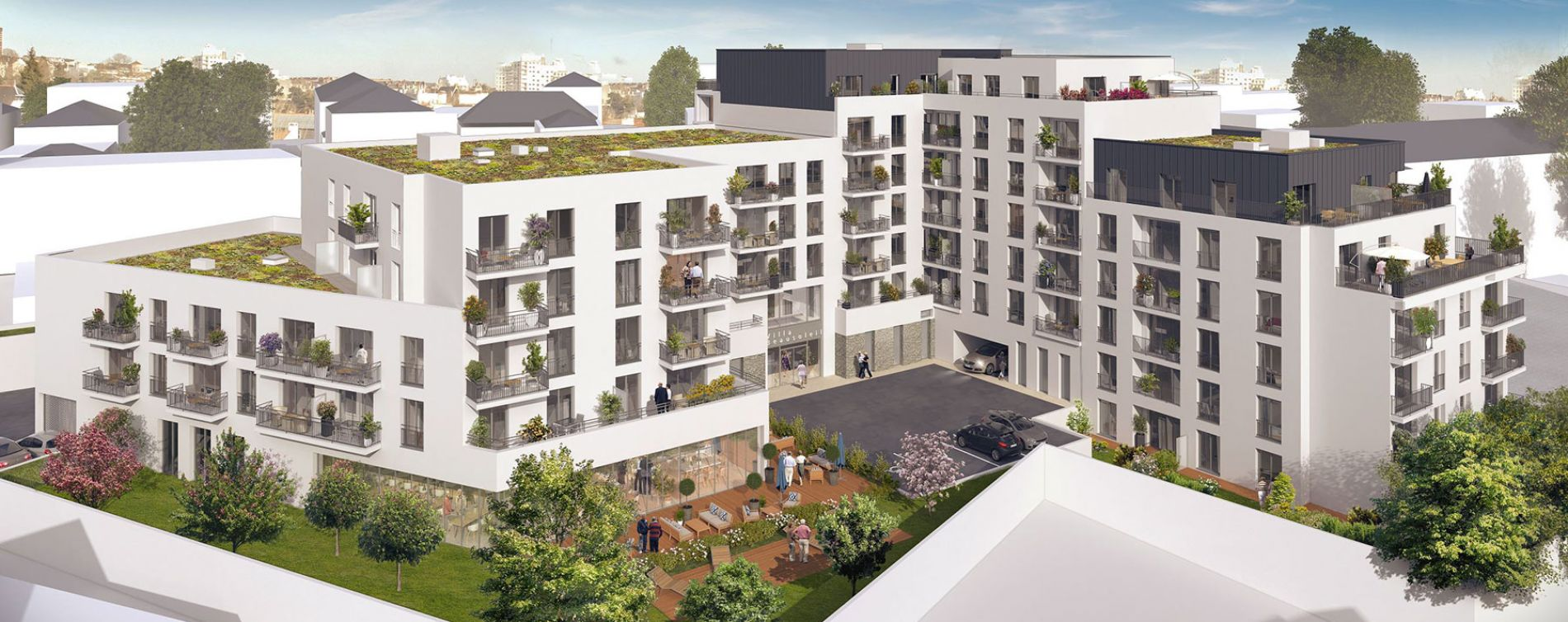Brest : programme immobilier neuve « Villa Beausoleil » (3)
