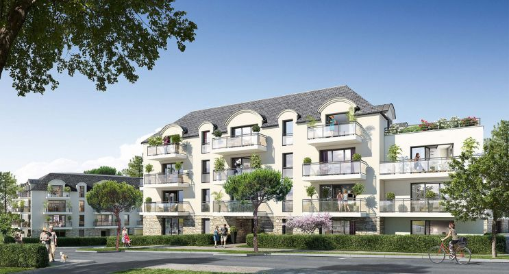 Concarneau : programme immobilier neuf « La Corniche II » en Loi Pinel