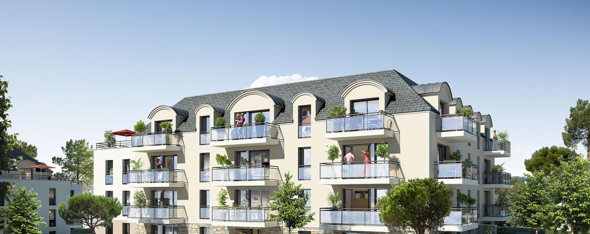 Concarneau : programme immobilier neuve « La Corniche » en Loi Pinel