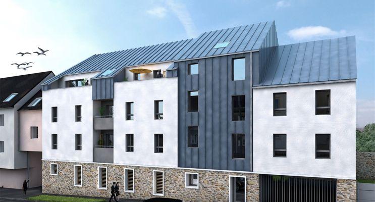 Photo du Résidence « Les Terrasses du Centre » programme immobilier neuf à Gouesnou