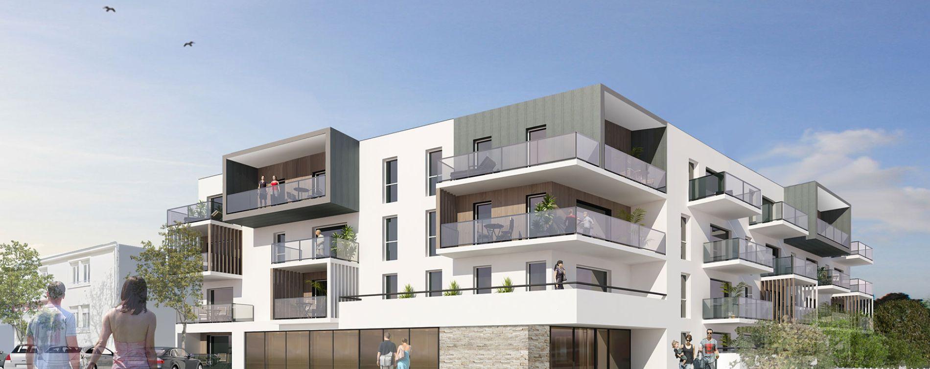 Guilers : programme immobilier neuve « Roz Avel » en Loi Pinel