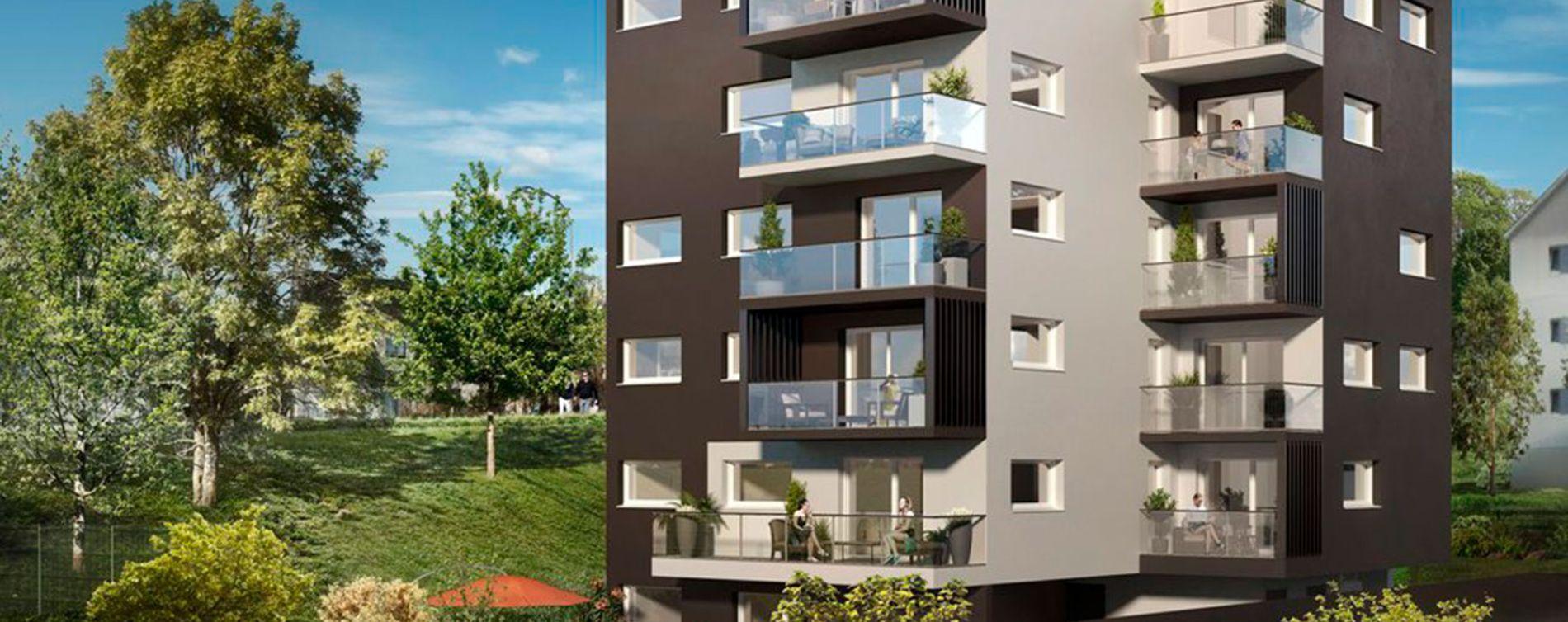 Landerneau programme immobilier neuve « L'Aristide »