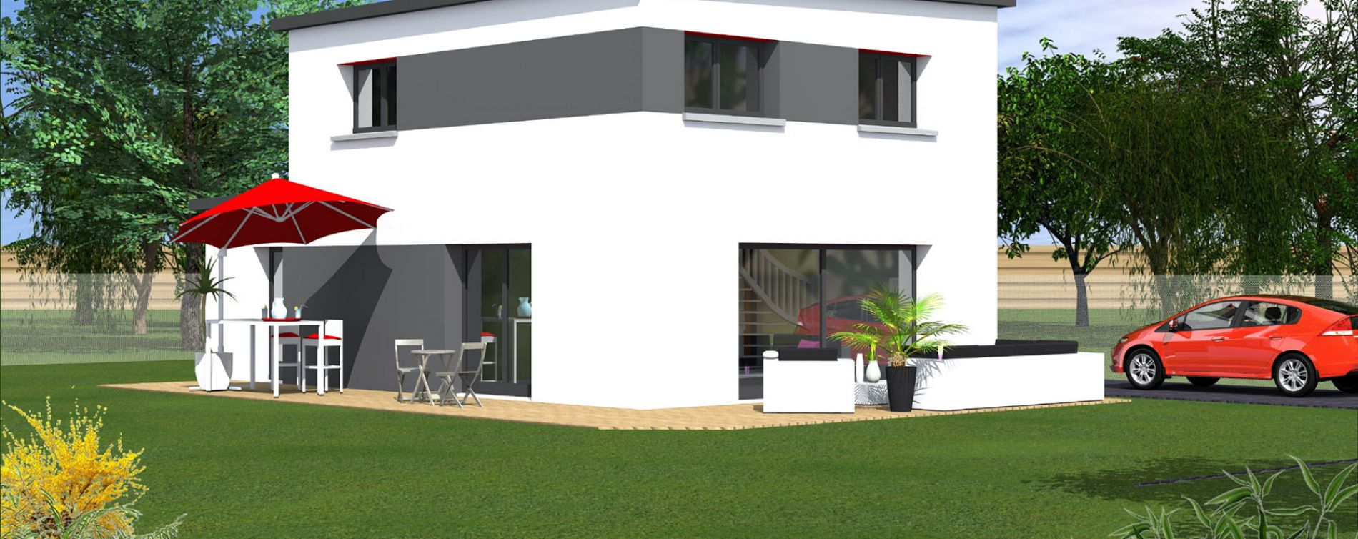 Landivisiau : programme immobilier neuve « Canik Ar Haro » (2)