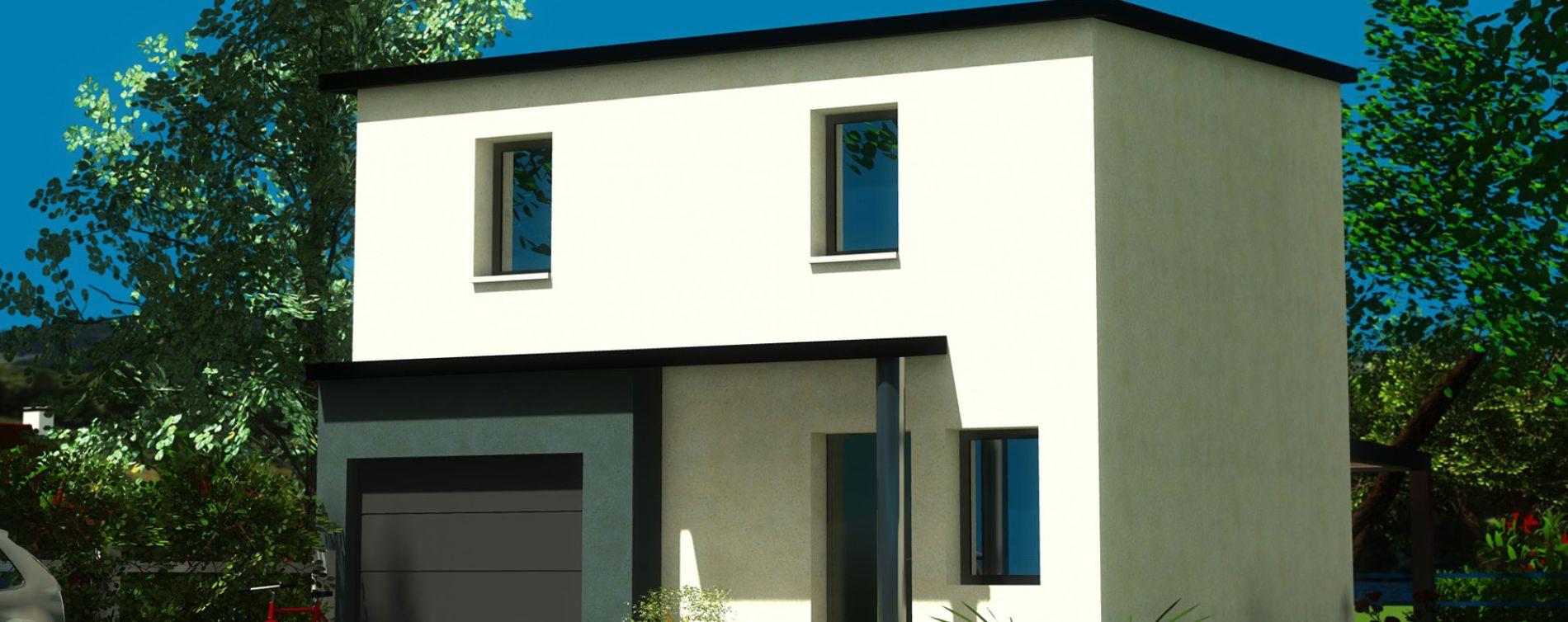 Lesneven : programme immobilier neuve « Cleusmeur » (2)