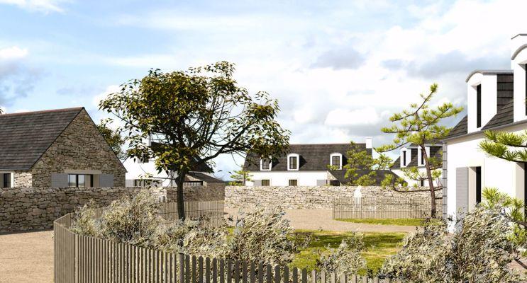 Photo n°1 du Résidence « Le Village De Pors Carn » programme immobilier neuf à Penmarch