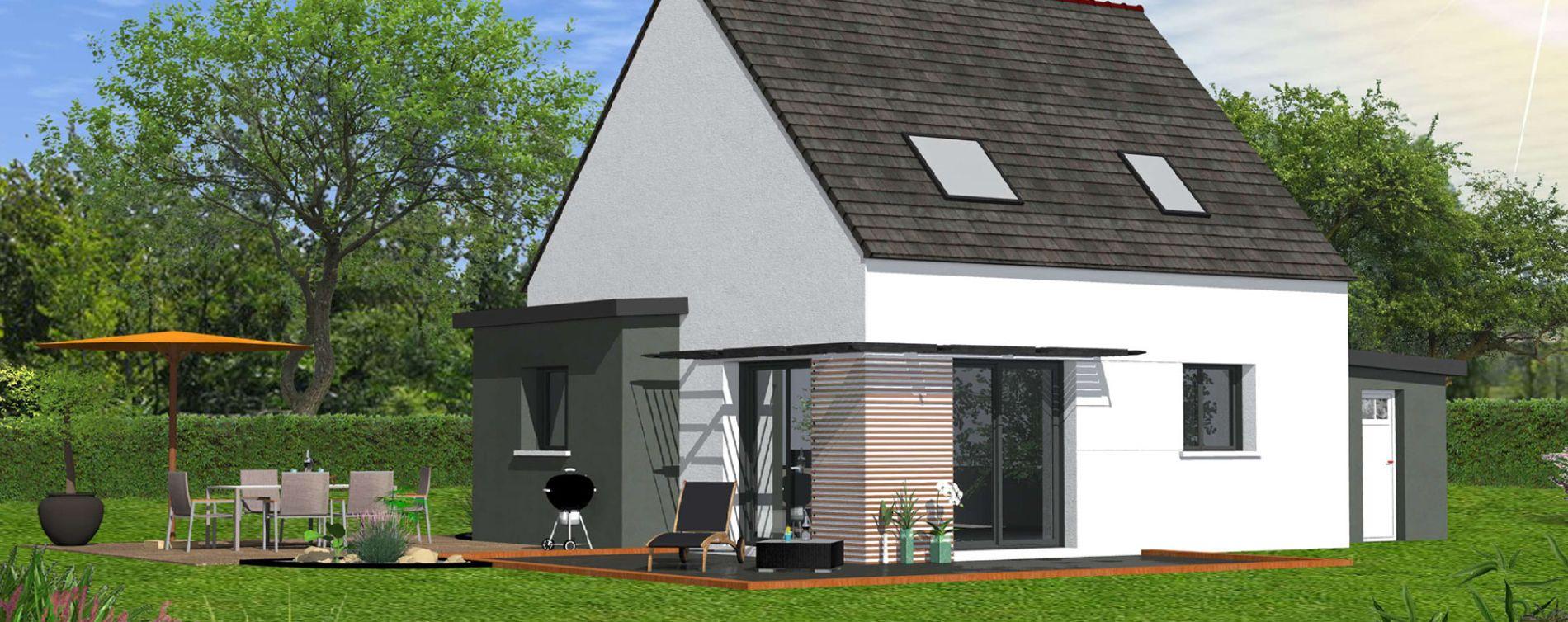 Ploudalmézeau : programme immobilier neuve « Chemin des Dunes » (2)