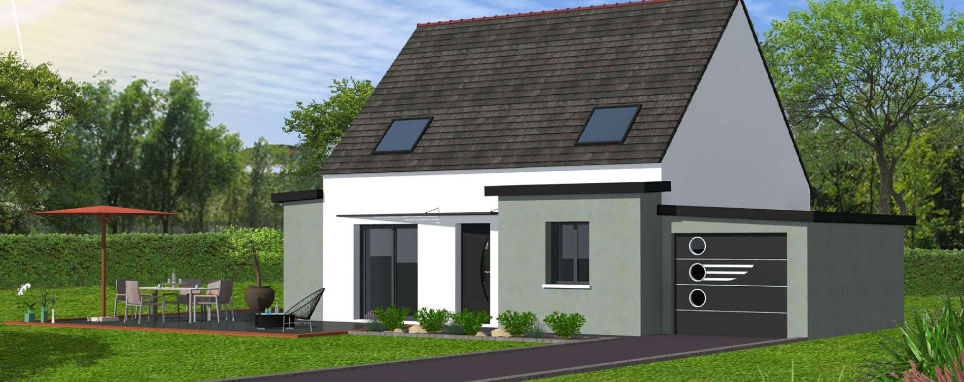 Ploudalmézeau : programme immobilier neuve « Roscaroc »