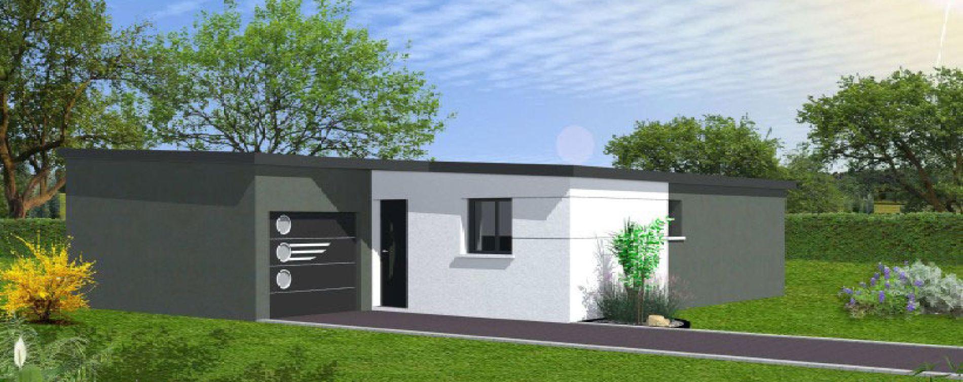 Ploudalmézeau : programme immobilier neuve « Tréompan » (4)