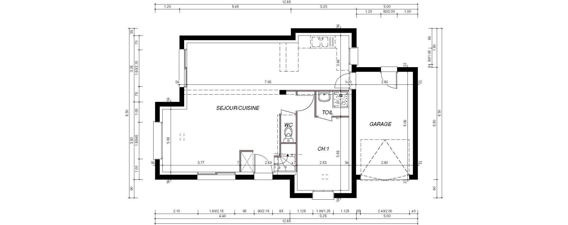 Maison T5 de 85,72 m2 à Plouzané Plouzane la trinité