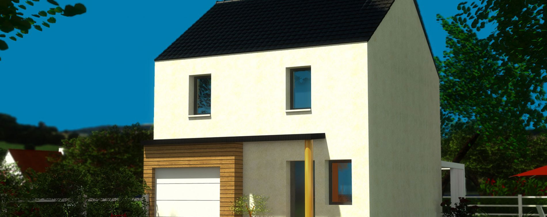 Saint-Pol-de-Léon : programme immobilier neuve « Résidence de la Baie de Carantec »
