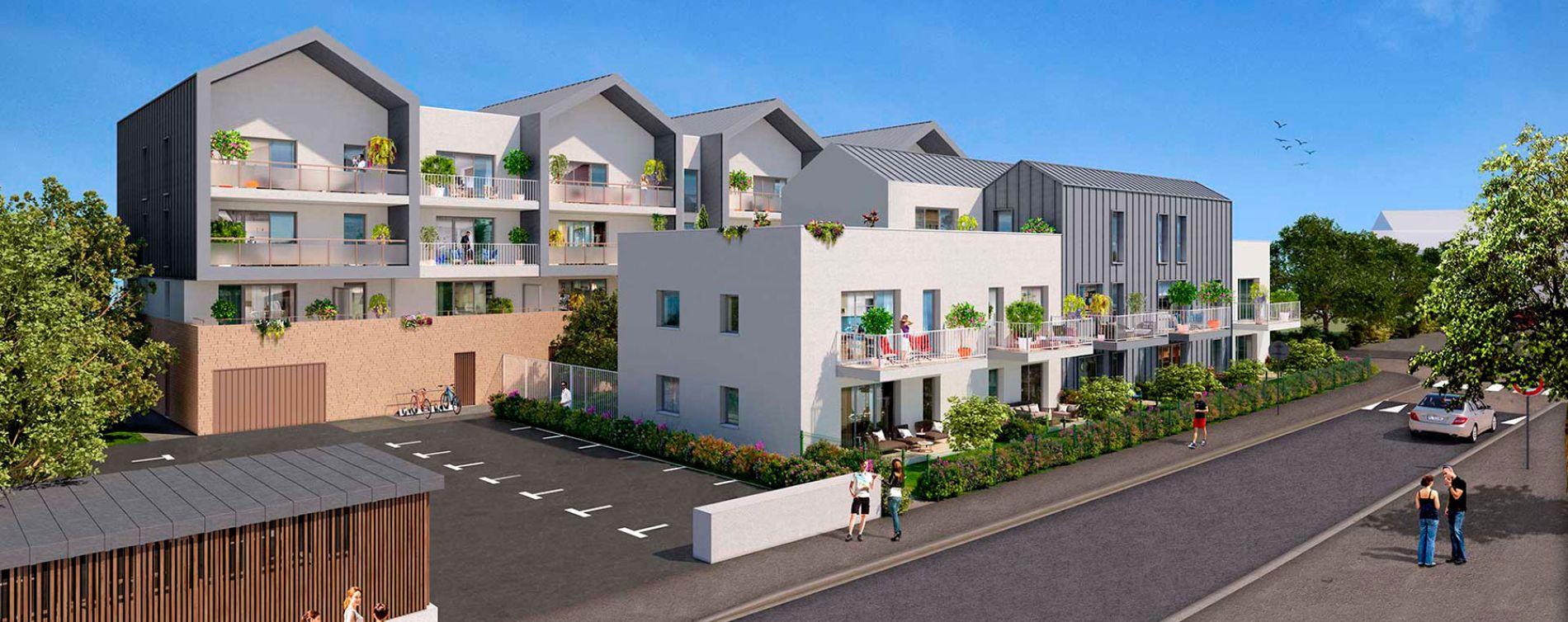 Acigné : programme immobilier neuve « Verduo » en Loi Pinel