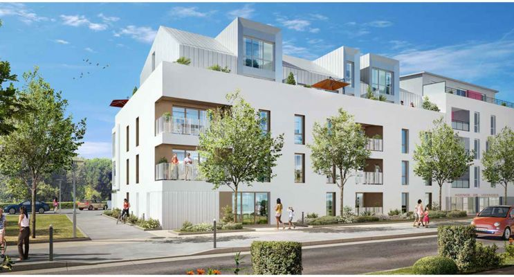 Cesson-Sévigné programme immobilier neuf « L'Angélique » en Loi Pinel