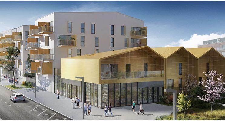 Résidence « Convergence #1 » programme immobilier neuf en Loi Pinel à Chantepie n°1