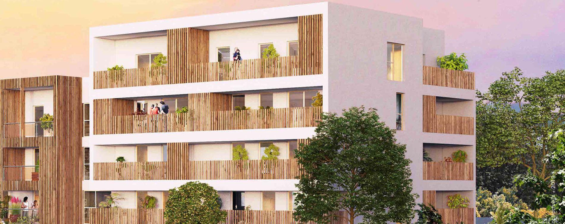 Chartres-de-Bretagne : programme immobilier neuve « Botanik » en Loi Pinel