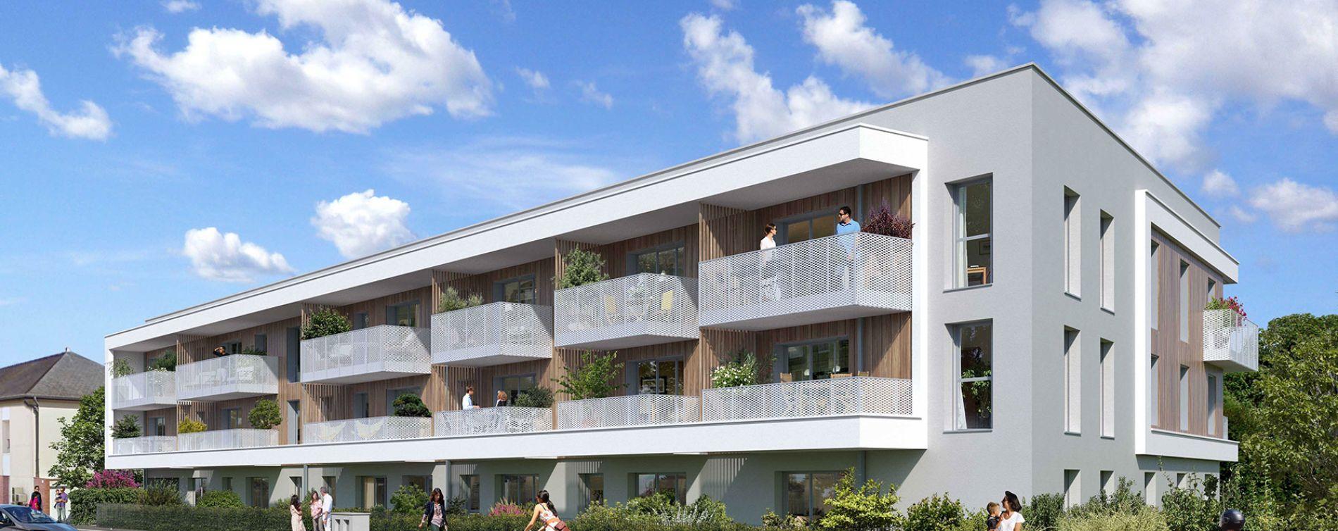 Chartres-de-Bretagne : programme immobilier neuve « Evidence » en Loi Pinel