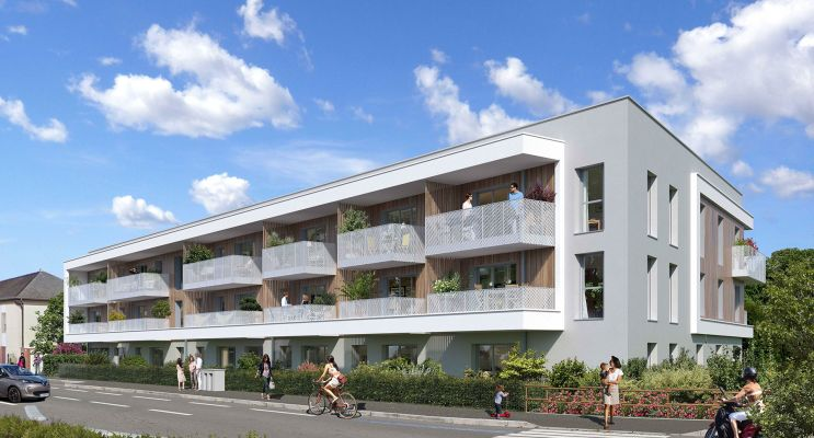 Chartres-de-Bretagne : programme immobilier neuf « Evidence » en Loi Pinel