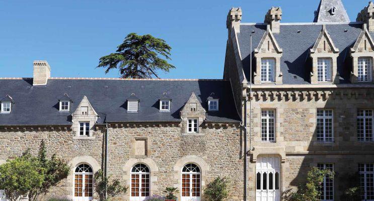Dinard programme immobilier à rénover « Le Manoir de la Vicomté » en Loi Pinel ancien