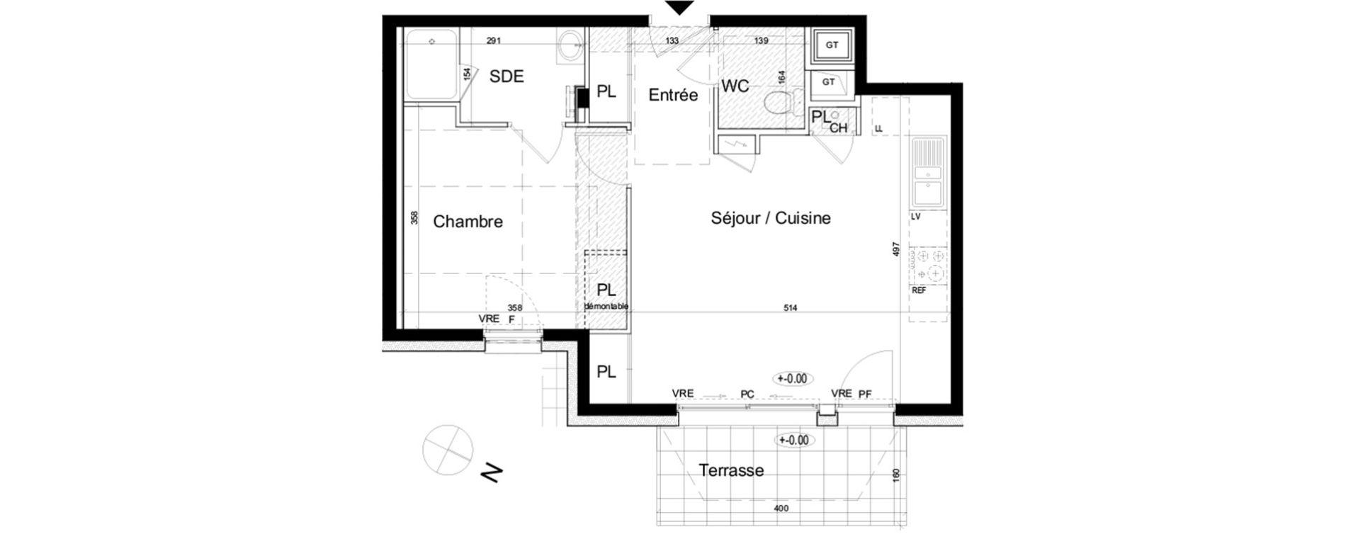 plan appartement gt
