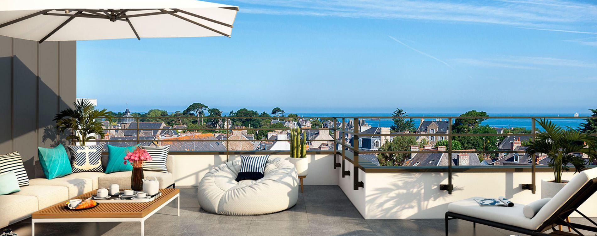 Dinard : programme immobilier neuve « Saint Eno Bay »