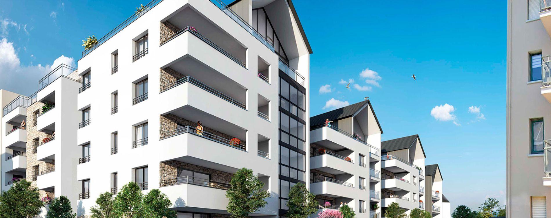 Dinard : programme immobilier neuve « Saint Eno Bay » (2)