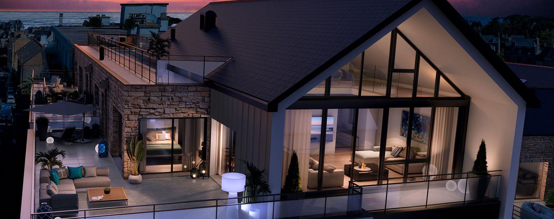 Dinard : programme immobilier neuve « Saint Eno Bay » (3)