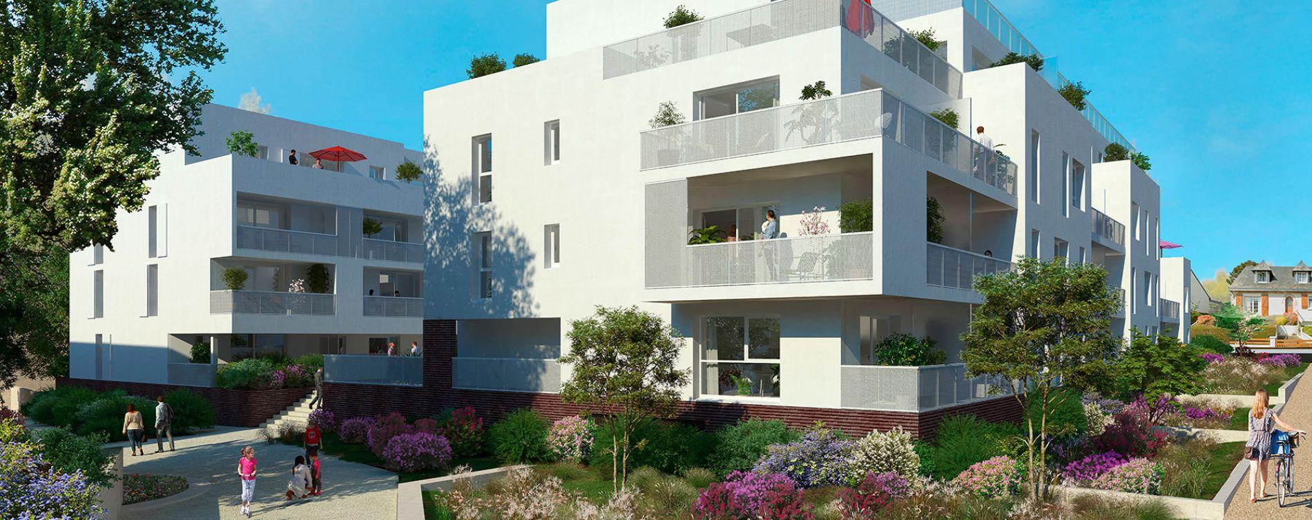 La Chapelle-des-Fougeretz : programme immobilier neuve « Les Allées Fougeretz »