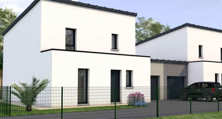 Résidence « Rue De Mordelles » programme immobilier neuf en Loi Pinel à L'Hermitage n°2