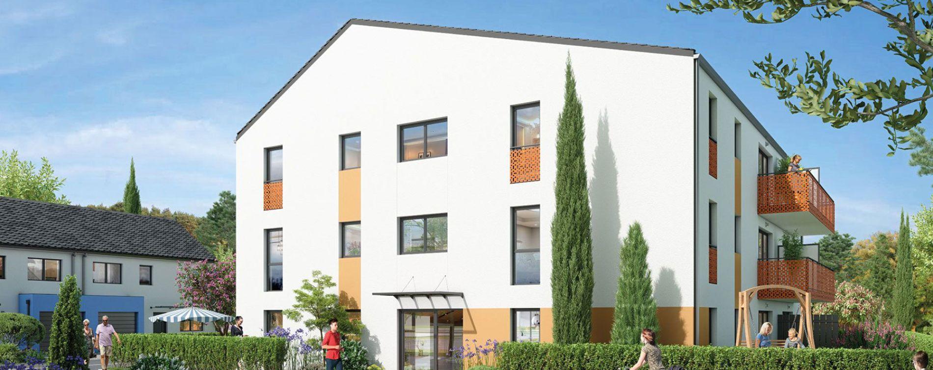 Liffré : programme immobilier neuve « Via Verde »