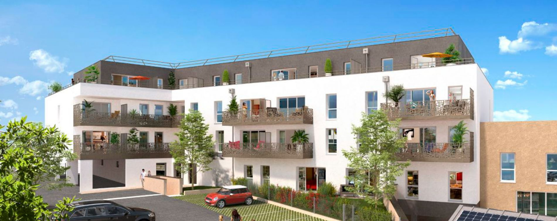 Mordelles : programme immobilier neuve « Villa Léna »