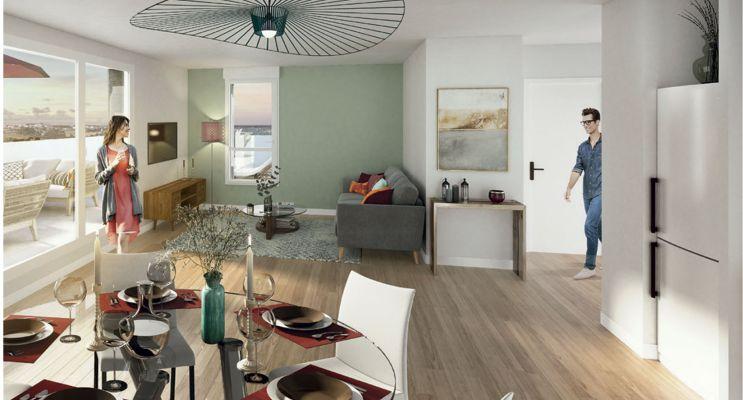 Résidence « Harmony » programme immobilier neuf en Loi Pinel à Noyal-Châtillon-sur-Seiche n°2