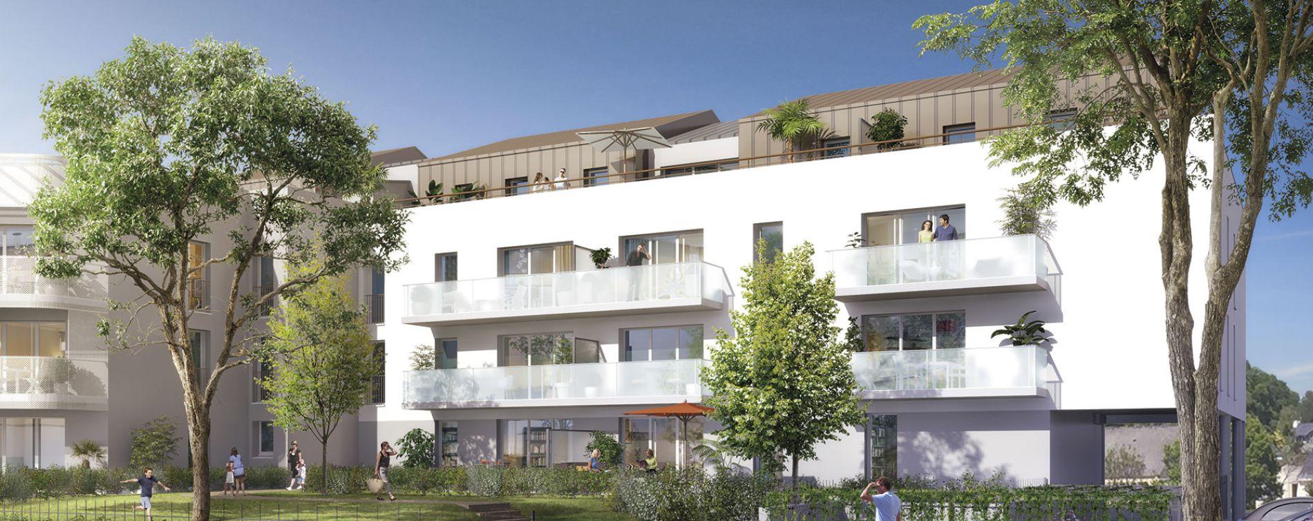 Noyal-Châtillon-sur-Seiche : programme immobilier neuve « Prisme »